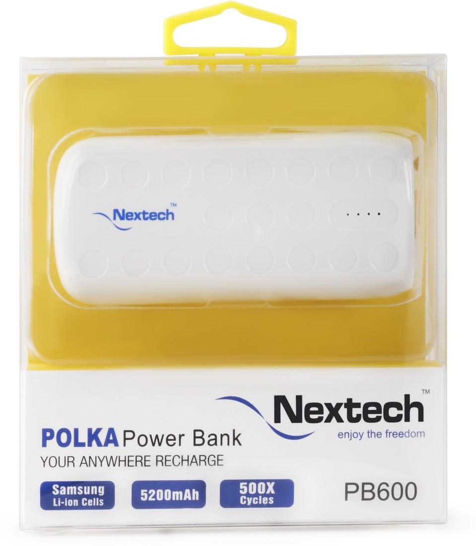 Nextech PB600 5200mAh Power Bank
