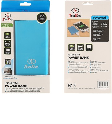 Everbest 10400mAh PowerBank (With Usb Cable)
