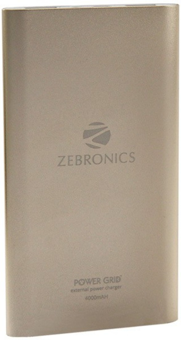 Zebronics PG-4000 4000mAh Power Bank