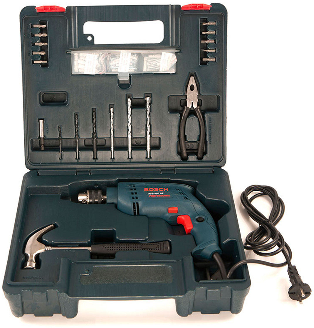Bosch GSB 450 RE Kit Power & Hand Tool Kit Price in India ...
