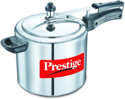 Prestige 11605 Aluminium 6.5 L Pressure Cooker (Induction Bottom,Inner Lid)