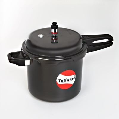 Tuffware Hard Anodized Outer Lid 3 L Pressure Cooker (Aluminium)