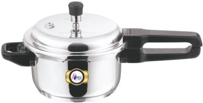 Apex Stainless Steel Polpular 5 L Pressure Cooker (Induction Bottom, Stainless Steel)