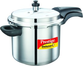 Deluxe-Alpha-Stainless-Steel-5.5-L-Pressure-Cooker-(Induction-Bottom,-Outer-Lid)