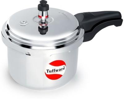 Tuffware Aluminium Outer Lid 2 L Pressure Cooker (Aluminium)