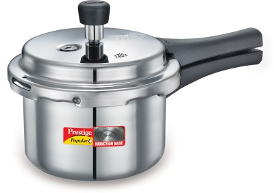 Prestige Popular plus 1.5 L Pressure Cooker (Induction Bottom, Aluminium)