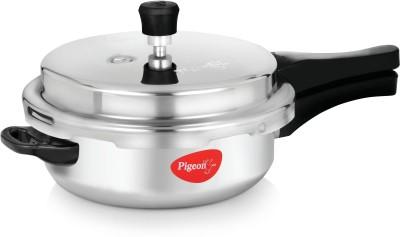 Pigeon Aluminium Pressure Pan Senior with Lid 6 L Pressure Cooker (Aluminium)