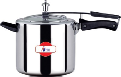 Apex Indigo 5 L Pressure Cooker (Induction Bottom, Aluminium)