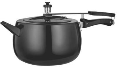 Quba Hard Anodised 3 L Pressure Cooker (Induction Bottom, Aluminium)