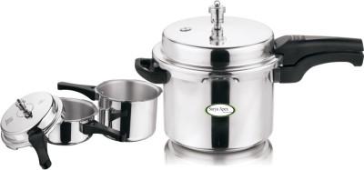 Apex 2 L, 3 L, 5 L Pressure Cooker (Aluminium)