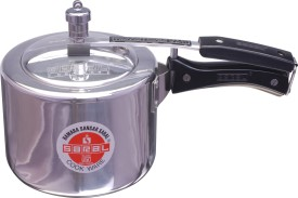 FS00000298 Aluminium 5 L Pressure Cooker (Induction Bottom, Inner Lid)