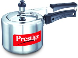 Nakshatra Plus Aluminium 5 L Pressure Cooker (Induction Bottom, Inner Lid)