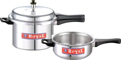 Royal Combi Small (Pressure Cooker & Pan) 5 L Pressure Cooker (Induction Bottom, Aluminium)