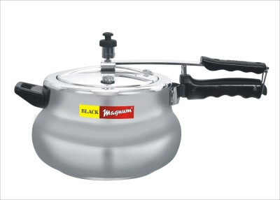 Black Magnum Matki 5.5 L Pressure Cooker (Induction Bottom, Aluminium)