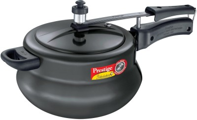 Nakshatra Plus Aluminium 6.5 L Pressure Cooker (Induction Bottom,Inner Lid)