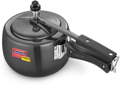 Padmini Hard Anodised 3 3 L Pressure Cooker (Induction Bottom, Aluminium)