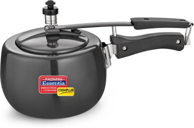 Padmini Hard Anodised 3 3 L Pressure Cooker (Induction Bottom, Aluminium)