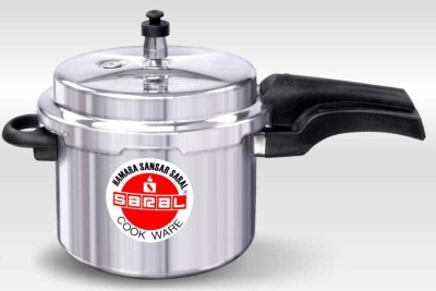 FS00000309 Aluminium 3 L Pressure Cooker (Induction Bottom,Outer Lid)