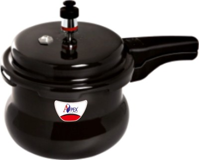Apex Hard Anodised Popular Handi 5.5 L Pressure Cooker (Hard Anodized)