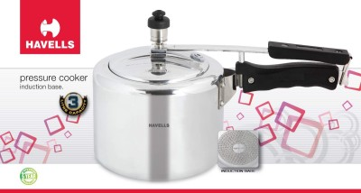 Havells Havells 3Ltr Pressure cooker (induction base) 3 L Pressure Cooker (Induction Bottom, Aluminium)
