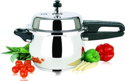 Garuda Nri Stainless Steel 7 L Pressure Cooker (Induction Bottom, Stainless Steel)
