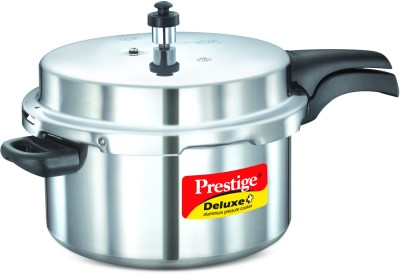 Deluxe-Plus-Aluminium-7.5-L-Pressure-Cooker-(Induction-Bottom,-Outer-Lid)