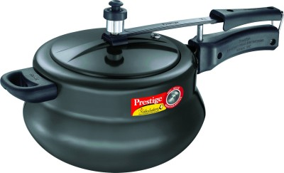 Prestige Nakshatra Plus HA Handi 5 L Pressure Cooker (Induction Bottom, Aluminium)