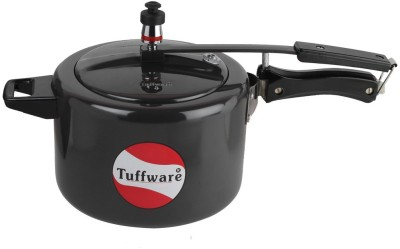Tuffware Beautiful and Durable Design 5 L Pressure Cooker (Induction Bottom, Aluminium)