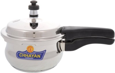 Chhayan Handi 1.5 L Pressure Cooker (Induction Bottom, Stainless Steel)