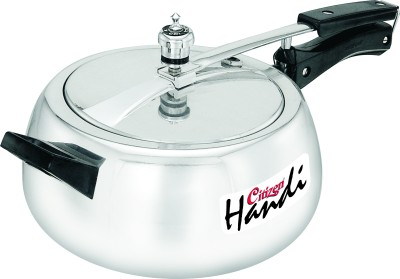 Citizen Handi - Mirror Finish Inner Lid 3 L Pressure Cooker (Aluminium)