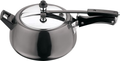 Kitchen Essentials Kalash Hard Anodised Inner Lid 5 L Pressure Cooker (Aluminium)