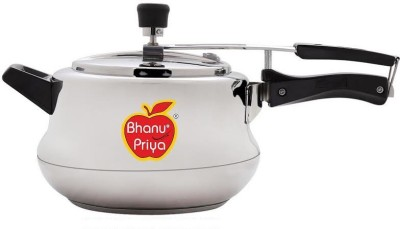 bhanu priya 5 L Pressure Cooker (Induction Bottom, Stainless Steel)