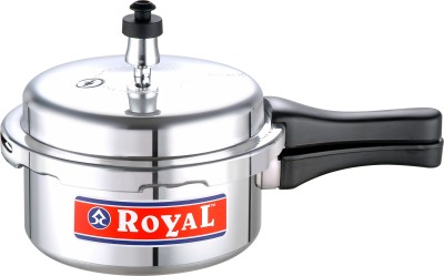 Royal Cookware 7.5 L Pressure Cooker (Induction Bottom, Aluminium)