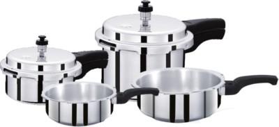 Surya Accent 1 L, 2 L, 3 L, 4 L Pressure Cooker (Aluminium)