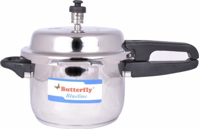 Butterfly Blueline 10 L Pressure Cooker (Induction Bottom, Stainless Steel)