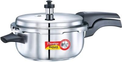 Prestige 5 L Pressure Cooker (Induction Bottom, Stainless Steel)