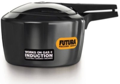 Futura Hard Annodised 3 L Pressure Cooker (Induction Bottom, Aluminium)