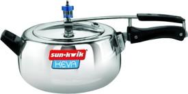 Keva-Deluxe-Aluminium-5-L-Pressure-Cooker-(Inner-Lid)