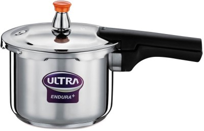 Ultra 4 L Pressure Cooker (Induction Bottom, Stainless Steel)