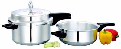 Mahavir 5.0 L Pressure Cooker (Aluminium)