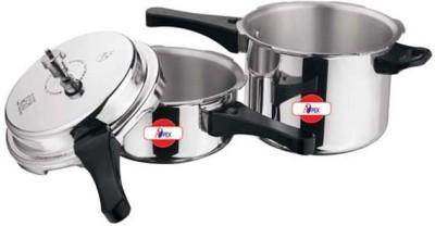Apex Popular 2.0 L, 3.0 L Pressure Cooker & Pressure Pan (Aluminium)