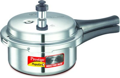 10200 Aluminium 2 L Pressure Cooker (Induction Bottom,Outer Lid)