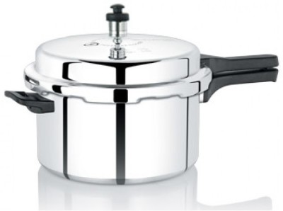 Thousandbrushes 3 L Pressure Cooker (Aluminium)