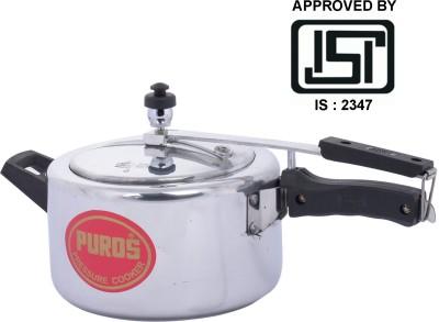 Puros Pressure Cooker 3 Ltr 3 L Pressure Cooker (Aluminium)