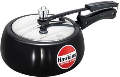 Hawkins Contura Black 2 L Pressure Cooker (Aluminium)