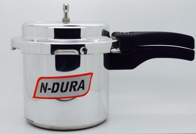 NDURA INDCOOK 3 LTRS 3 L Pressure Cooker (Induction Bottom, Aluminium)