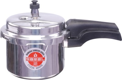 FS00000299 Aluminium 5 L Pressure Cooker (Induction Bottom,Outer Lid)