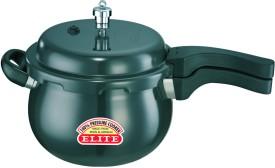 Elano-Hard-Anodised-Handi-5.5-L-Pressure-Cooker-(Outer-Lid)