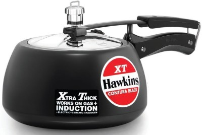 Hawkins HA Contura XT 3 L Pressure Cooker (Induction Bottom, Hard Anodized)