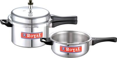 Royal Combi Mini (Pressure Cooker & Pan) 3 L Pressure Cooker (Induction Bottom, Aluminium)